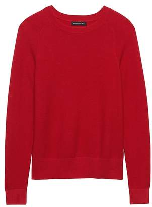 Banana Republic Italian Merino Blend Raglan Sweater