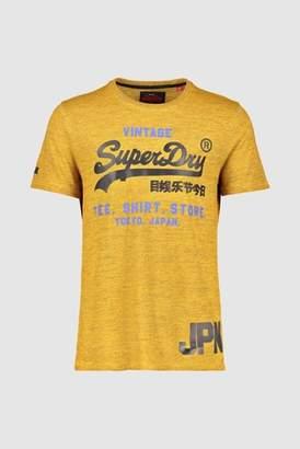 Next Mens Superdry Script Logo T-Shirt