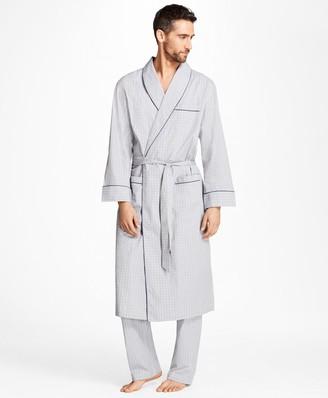 Brooks Brothers Plaid Robe