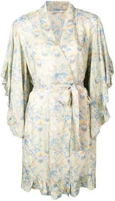 Mes Demoiselles frilled kimono