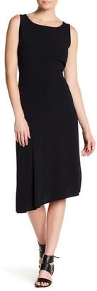 BOSS HUGO BOSS Derisa Asymmetrical Midi Dress $595 thestylecure.com