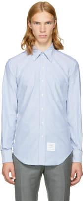 Thom Browne Blue Classic Button-Down Shirt