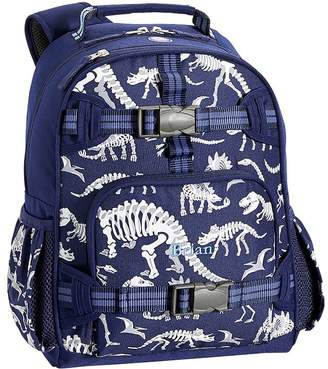 Pottery Barn Kids Mackenzie Blue Dino Glow-in-the-Dark Backpacks