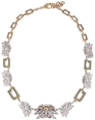 Lulu Frost Larkspur & Gold Link Midi Necklace
