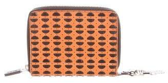 Miu Miu Leather Zip Wallet