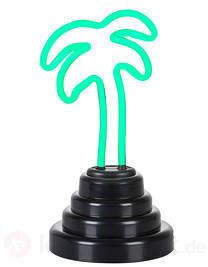 Witzige Dekorationsleuchte LED Neono Palme klein