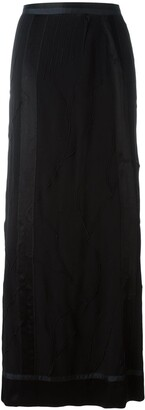 Jean Paul Gaultier Pre-Owned textured maxi skirt