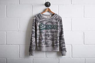 Tailgate Women's Oregon Camo Sweatshirt