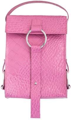 Croco Js By Julia Skergeth The Mini Bag Berry Pink