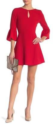 J.o.a. Bell Sleeve Dress