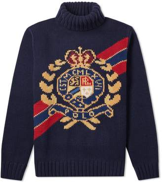 Polo Ralph Lauren Chunky Crest Roll Neck Knit