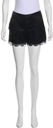Trina Turk Lace Mini Shorts