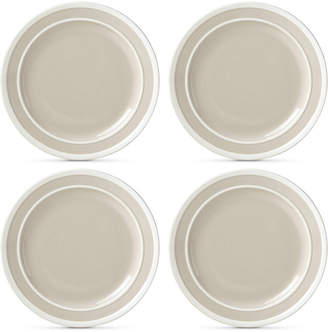 Kate Spade Sculpted Stripe 4-Pc. Dinner Plate Set