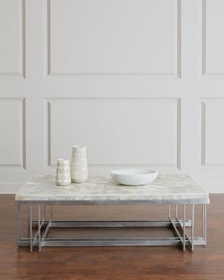 Hooker Furniture Thiago Onyx-Top Coffee Table