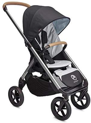 EasyWalker Mosey Plus Single Pushchair, Charcoal Blue