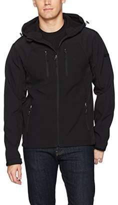 English Laundry Men's Hooded Softshell Jacket