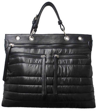 Sondra Roberts SQUARED Quilted Satchel