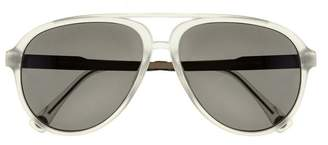 Vince Camuto Colored-frame Aviator Sunglasses