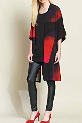 Clara Sunwoo Abstract Kimono Cardigan