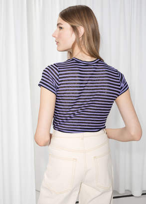 Sheer Striped T