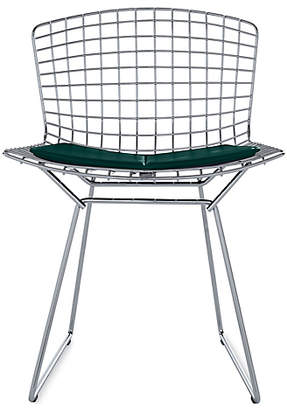 Design Within Reach Knoll Bertoia Side Chair with Vinyl Seat Pad, Green at DWR