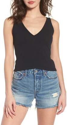 BP Double V Rib Knit Tank