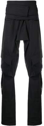 D.Gnak loose elongated trousers