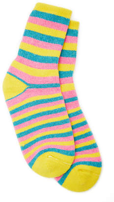 The Elder Statesman Striped Cashmere Socks