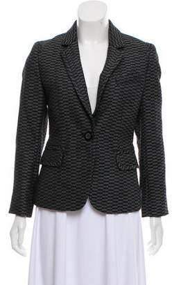 Ellen Tracy Wool Textured Blazer