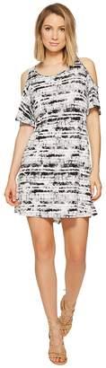 Kensie Stamped Tie-Dye Dress KS6K7982 Women's Dress