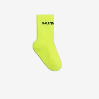 Balenciaga High socks with logo at front ankle