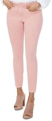 NYDJ Ami Ankle Skinny Jeans in Coral Haze