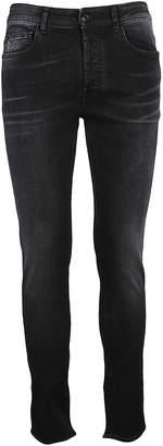 Marcelo Burlon County of Milan Slim Faded Jeans