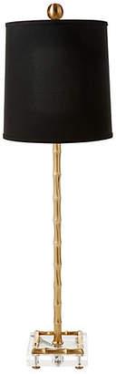 One Kings Lane Pekoe Bamboo Table Lamp - Brass