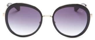Diane von Furstenberg Women's Round Sunglasses $39.97 thestylecure.com
