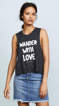 Spiritual Gangster x Cleobella Wander with Love Crop Tank
