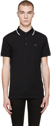 Burberry Black Adley Polo $295 thestylecure.com