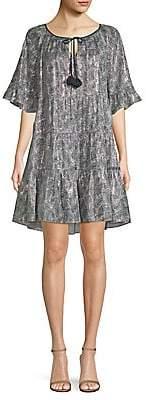 Kobi Halperin Women's Paisley-Print Shift Dress