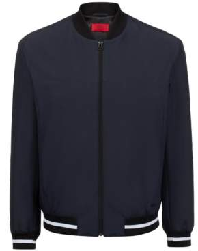 HUGO BOSS Hugo Men's Bestino1921 Slim-Fit Bomber Jacket