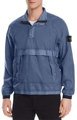 Stone Island Resin Poplin Popover Jacket - 100% Exclusive