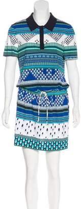 Diane von Furstenberg Printed Midi Dress