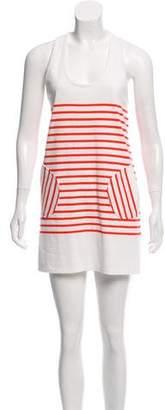 Milly Stripped Mini Dress