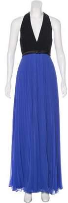 Halston Sleeveless Evening Dress w/ Tags