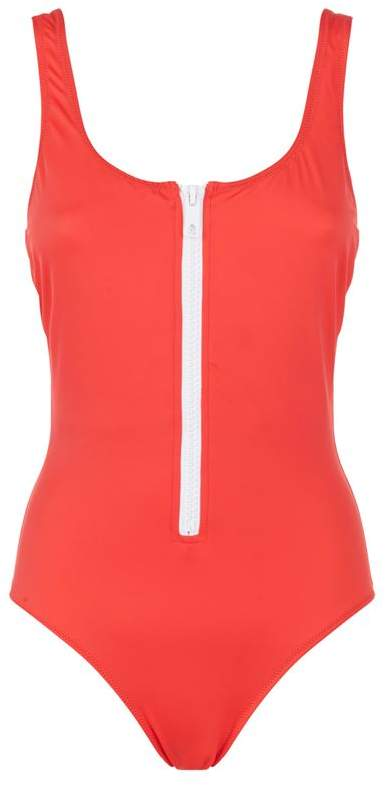 Anne-Marie Zip-Up Swimsuit