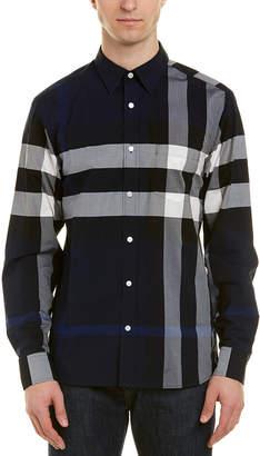 Burberry Check Woven Shirt