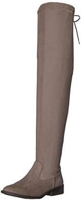 Qupid Women's VINCI-49XX Over The Knee Boot