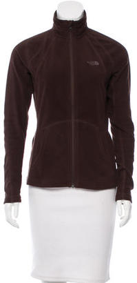The North Face Long Sleeve Zip-Up Jacket $75 thestylecure.com