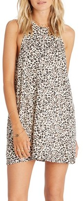 Billabong Wild Sun Animal Print Shift Dress $49.95 thestylecure.com