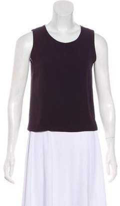 Sonia Rykiel Scoop Neck Sleeveless Top
