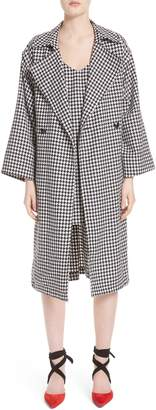 Simon Miller Houndstooth Double Breasted Coat